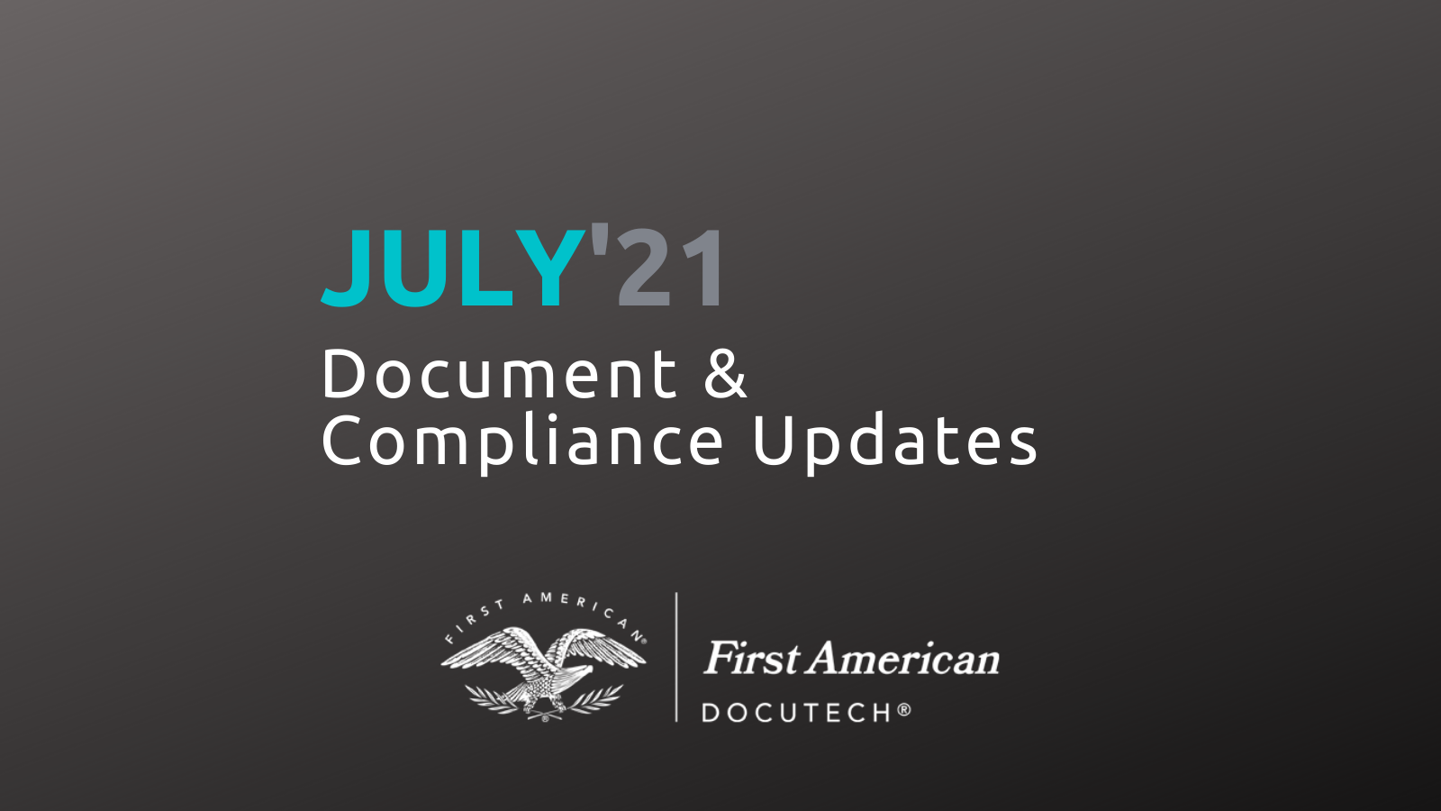 July Compliance Roundup