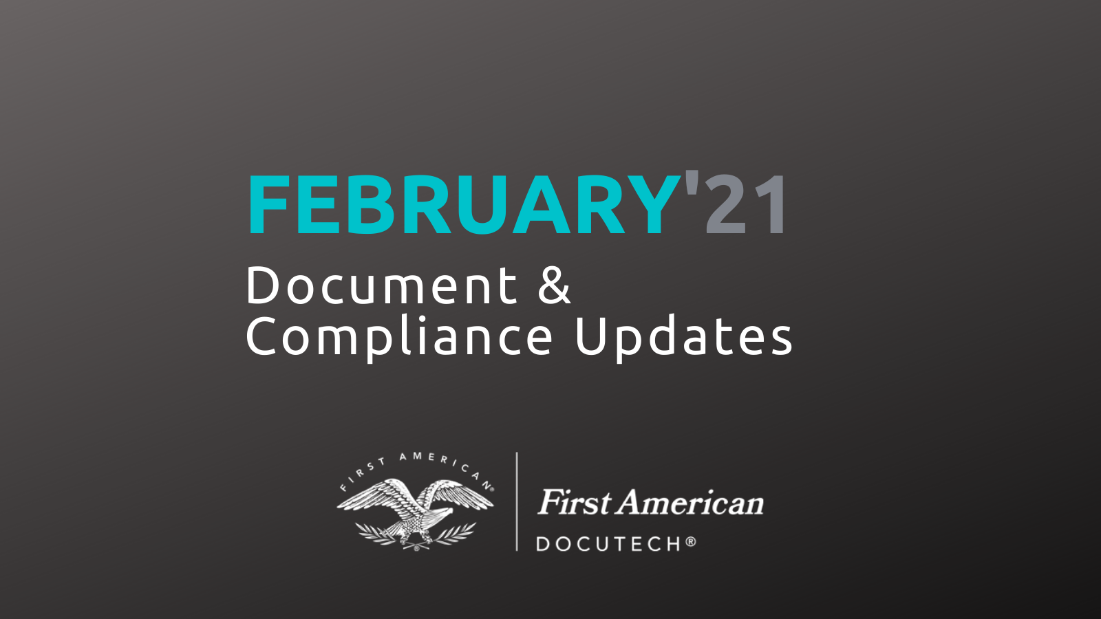 February 2021 Compliance Roundup